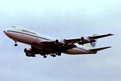 N902PA   Boeing 747-132 [19896] (Pan American Airways) Heathrow~G 23/04/1979