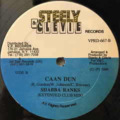 SHABBA RANKS:CAAN DUN(LABEL SIDE-B)