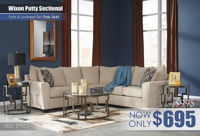 Wixon Putty Secitonal_57003-55-56-T138