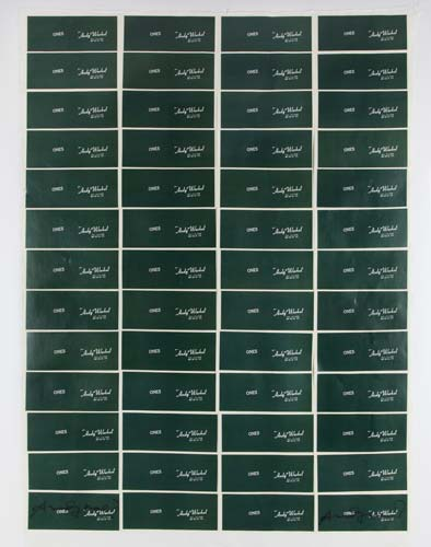 1971 Andy Warhol Art Cash-Ones