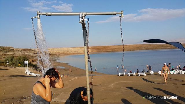 Fasilitas air tawar untuk membasuh tubuh