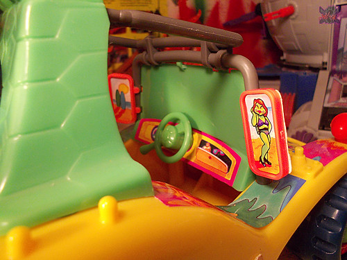 TEENAGE MUTANT NINJA TURTLES :: MIKE'S KOWABUNGA SURF BUGGY .. turns x (( 1991 ))
