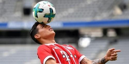 Kata Siapa James Rodriguez Tidak Nyaman di Bayern Munchen