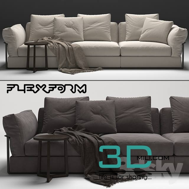 Swell 135 Sofas And Ottoman Ikea Nockeby 3D Mili Download 3D Short Links Chair Design For Home Short Linksinfo