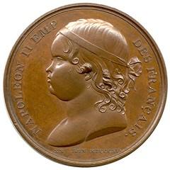 1815 Napoleon Son Medal obverse