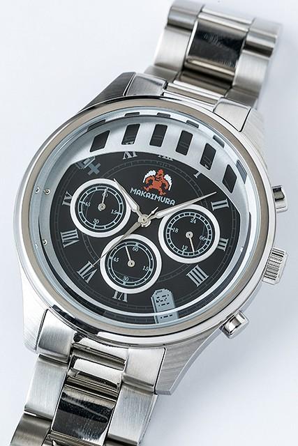怎麼一戴上這隻手錶就有種生氣的感覺~~Super Groupies x 魔界村【魔界村造型手錶】魔界村 モデル 腕時計 リストウォッチ