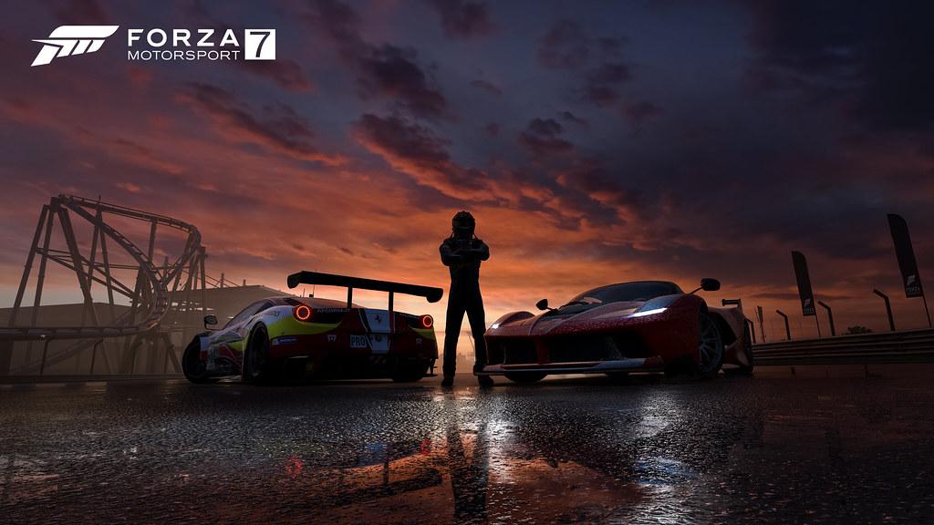 Forza-7_Ferrari-Sunset_4K