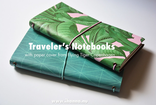 New Flying Tiger Traveler's Notebooks blogged by iHanna #flyingtiger #flyingtigercopenhagen
