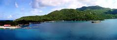 Labadee, Haiti Panorama. Fuji XP200. DSCF6532-6540.