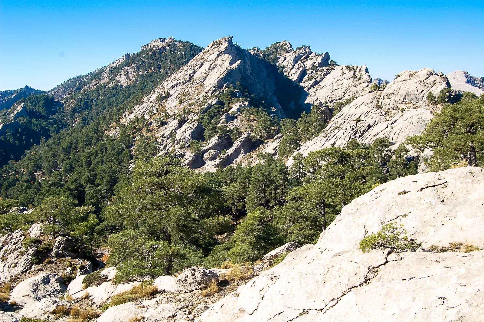 Zona de Puerto Pinillo y cerro de la Tableta