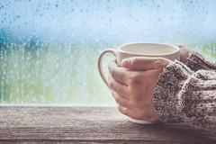 wellness retreat in the rain
