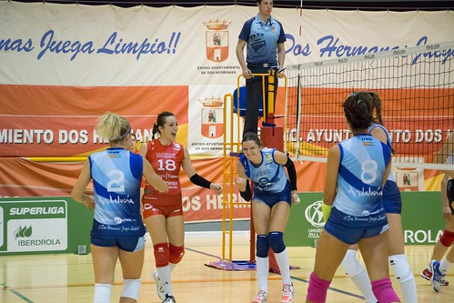 Cajasol Juvasa Voley primer partido en casa Superliga Iberdrola