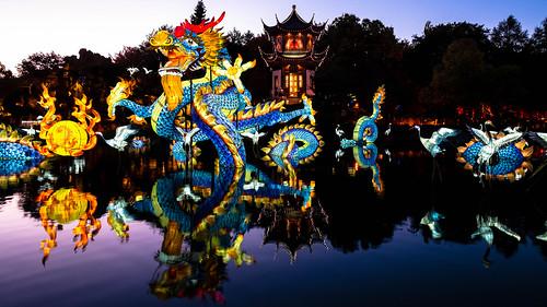 The Pagoda and the dragon
