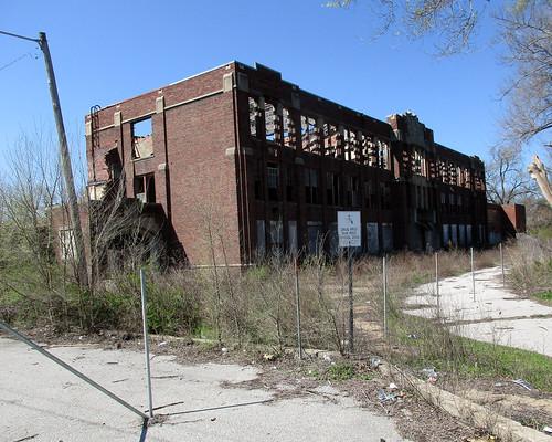 Vacant Building, East Saint Louis, Illinois