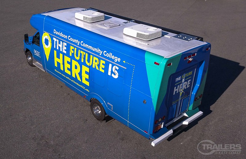 DCCC Enrollment Bus – Custom Built to Deliver Opportunity!