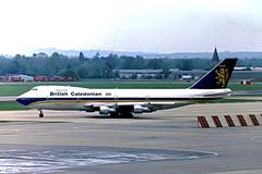 G-BJXN   Boeing 747-230B [20527] (British Caledonian) Gatwick~G 16/05/1981