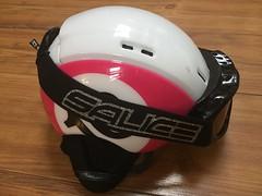 lyžařská helma CASCO + brýle SALICE - titulní fotka