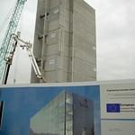New build at the UCLan university Preston