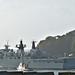 HMS Albion leaving HMNB, Monday 2 October 2017