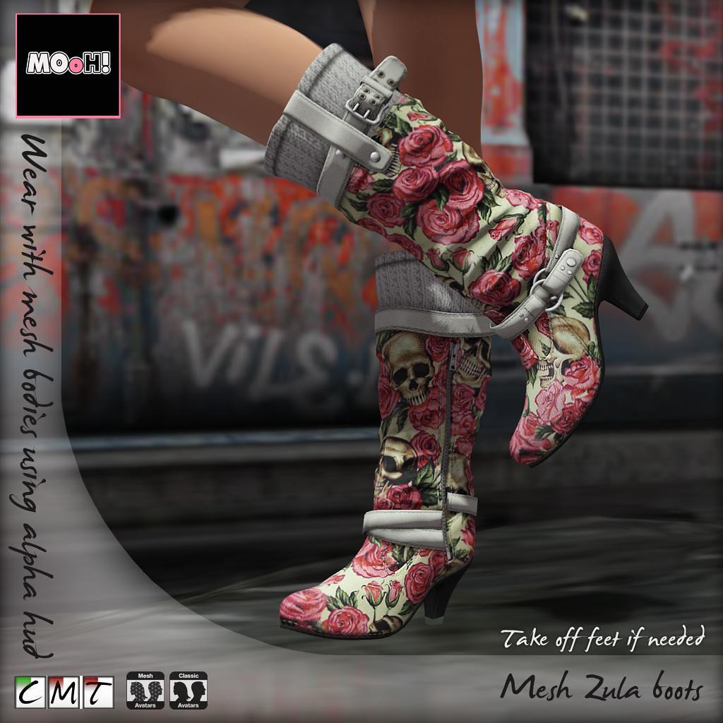 Zula boots - TeleportHub.com Live!