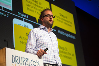 Dries Buytaert delivers his State of Drupal Keynote 2017