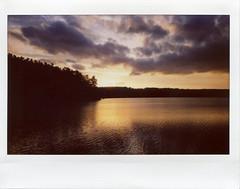 Laurel Lake At Sunset; Lee, Massachusetts