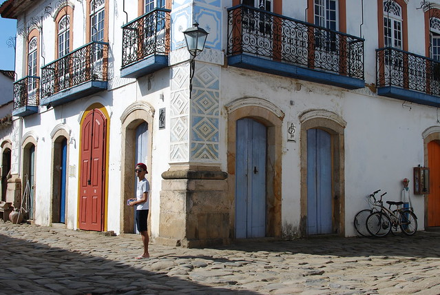 Wandering around the historic town of Paraty