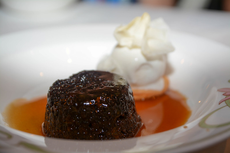 Warm Sticky Date Pudding