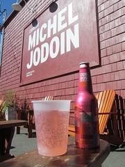 Michel Jodoin Cidre Rosé Mousseux aluminum bottle