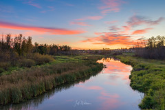Sturgeon River, St Albert, Alberta