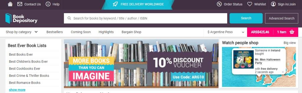 Como Comprar En Bookdepository Desde Argentina Compras Exterior