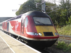 43277 arrives at Berwick-upon-Tweed (18/10/17)