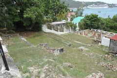 St. Thomas -  Abandoned Building Foundation
