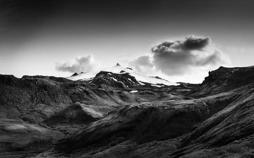 Snæfellsjökull - glacier/volcano
