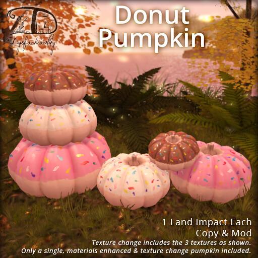 Donut Pumpkin - TeleportHub.com Live!
