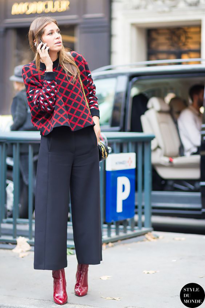 red ankle boots autumn outfits street style trend style outfit 2017 accessories denim2