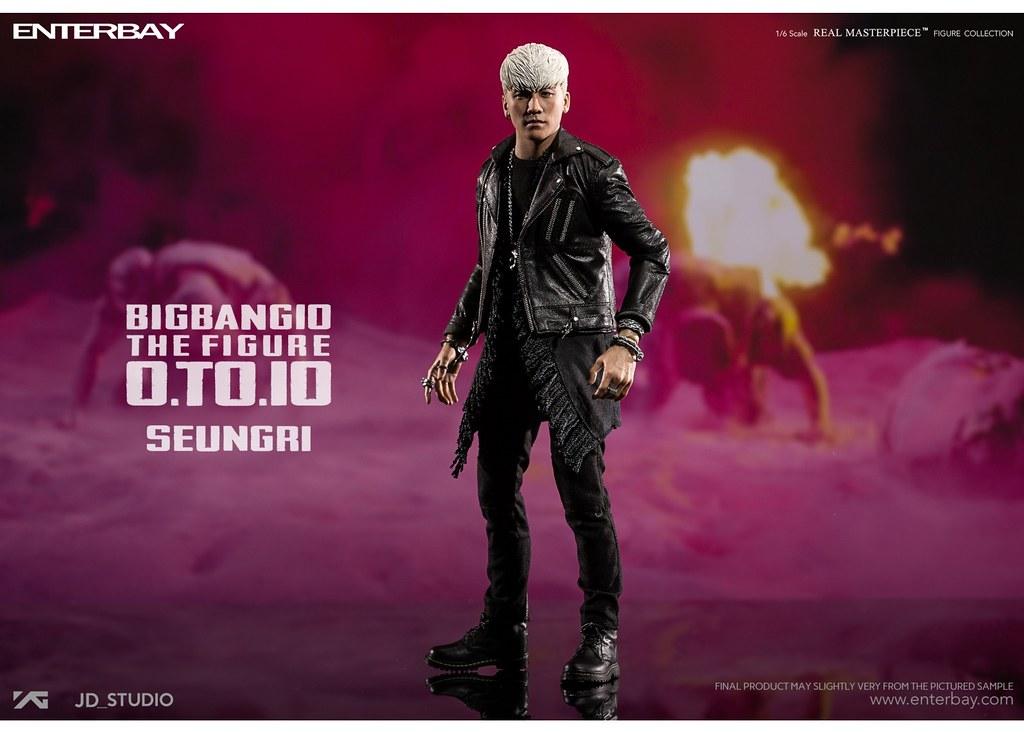 ENTERBAY – BIGBANG 10 週年紀念系列【勝利 Seungri】BANG BANG BANG Ver. 1/6 比例人偶作品