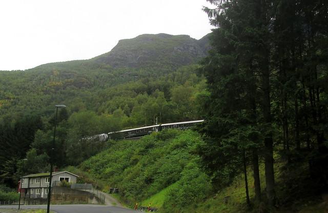 Rear of Train on Flåmsbana