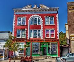 Saranac Lake ~ New York ~ Donaldson Block ~ 56 Main Street  ~