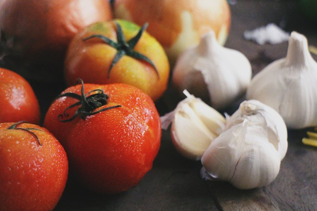 Tomatoes Garlic Pasta Fusili Duane Bacon Blogger Lifestyle Health DIY Independent