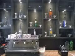 Shelf of drinks