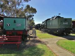 Y108 & N432 - Newport Railway Museum – 14.10.17