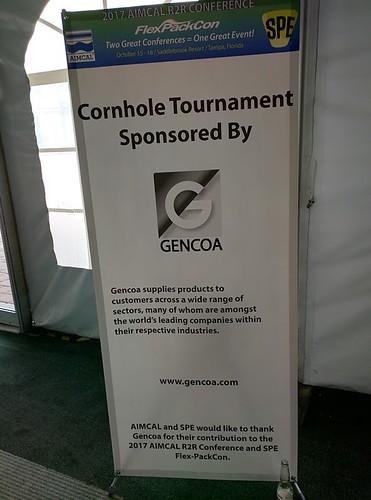 Aimcal Gencoa Corn Hole Sponsor 101717