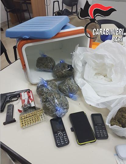 Putignano arresti per droga
