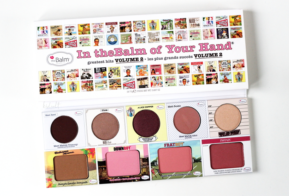 in thebalm of your hand palette