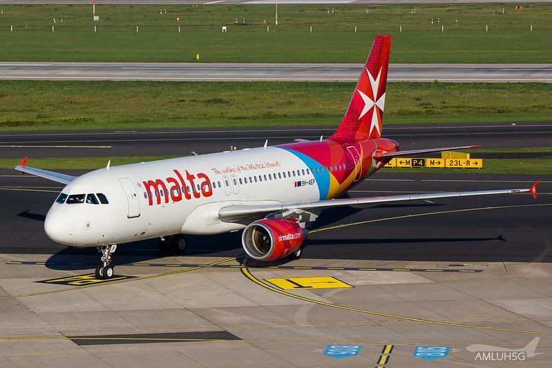 Air Malta - A320 - 9H-AEP (1)