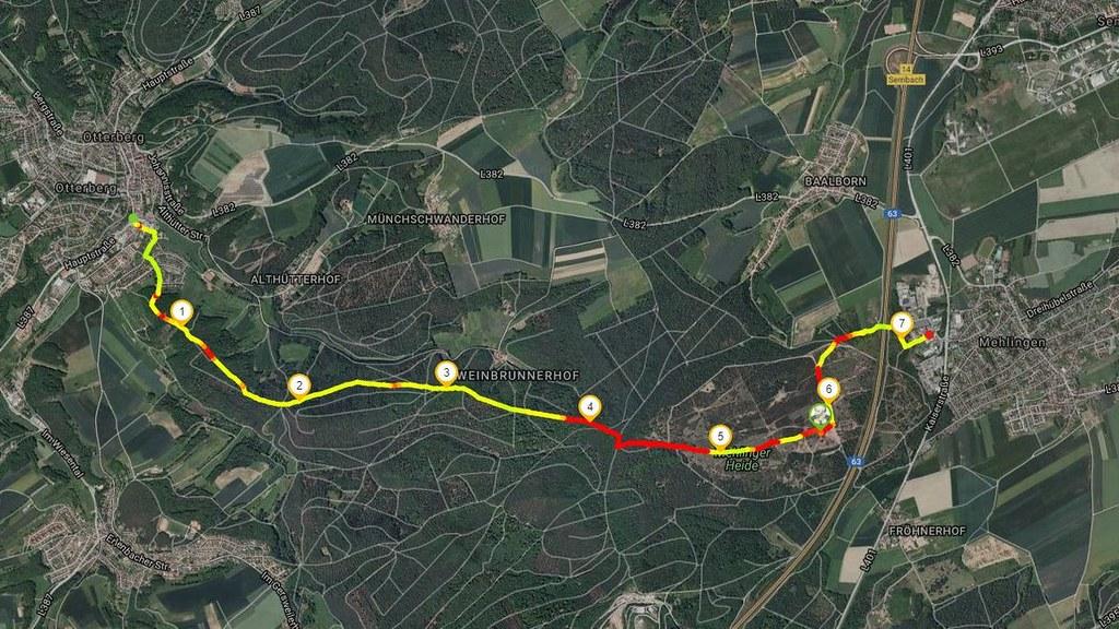 Bloggerwandern RLP von Otterberg zur Mehlinger Heide am 17.10.2017