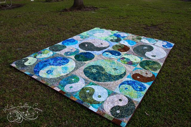 Yin Yang Quilt - Finished