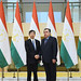 President Nakao meets Tajikistan President