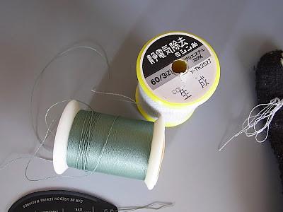 3静電防止糸